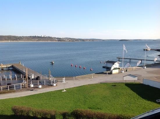 Stenungsbaden Yacht Club : utsikt fra hotellet