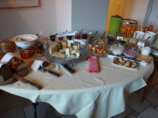 Casa Ambica: Frühstücksbuffet