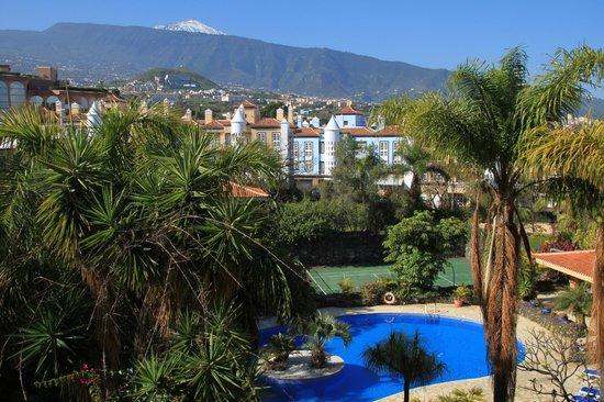 Aparthotel Florasol : Aussicht von Apartmentterrasse