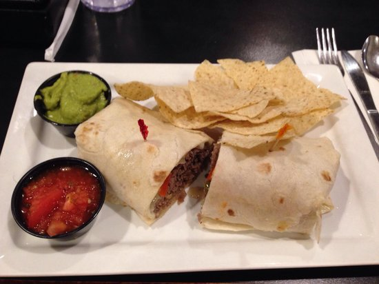 Parkway Deli: Steak Wrap