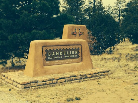 Bandelier National Monument: Entrance