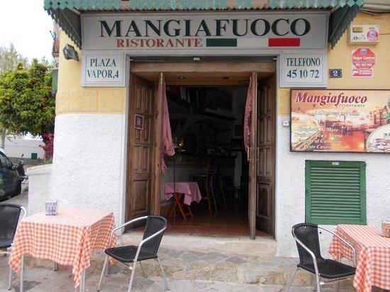 Restaurante Mangiafuoco: entrance