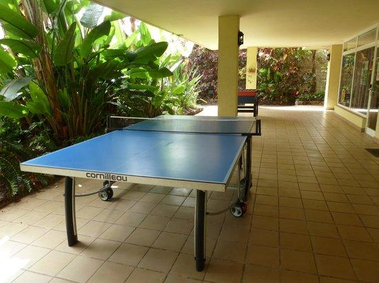 Aparthotel Florasol : Tischtennis
