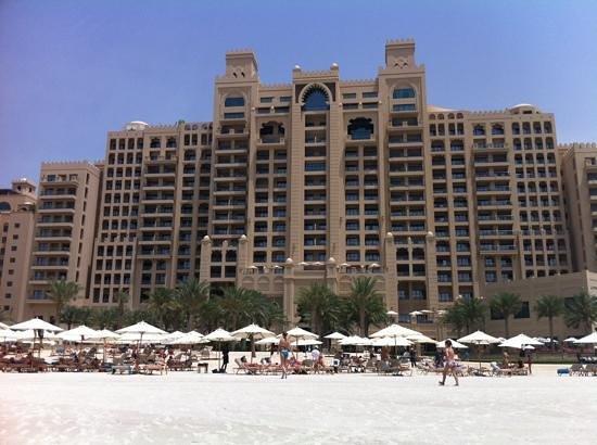 Fairmont The Palm, Dubai: Beach view!