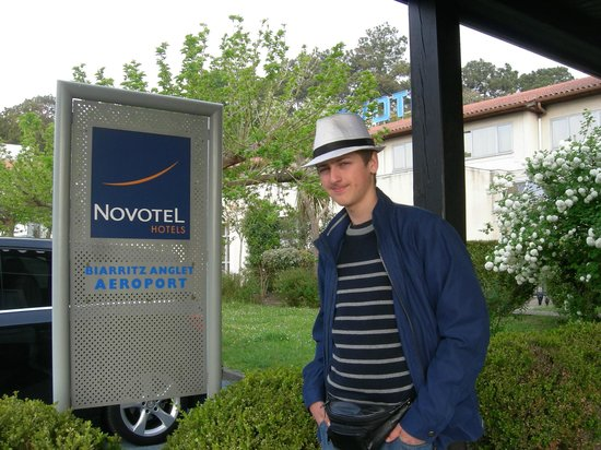 Novotel Resort & Spa Biarritz Anglet : L'entrée de l'hôtel