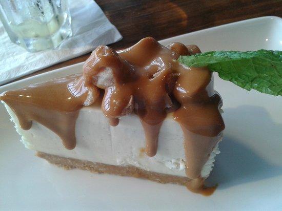 Las Iguanas Cardiff Bay: fab yummy cheesecake