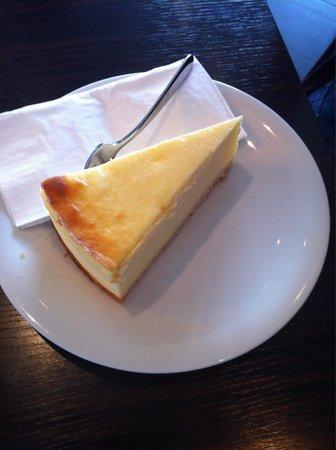 Schokoladenmuseum: cheesecake