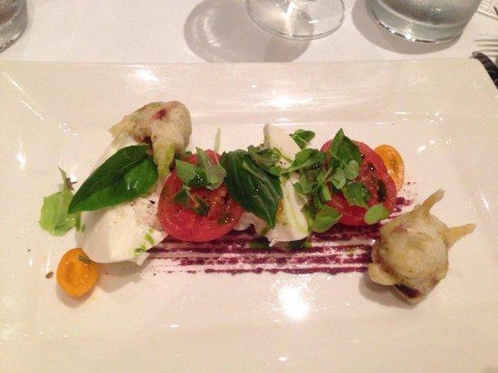 Catharina's Restaurant at Steenberg: Caprese salad