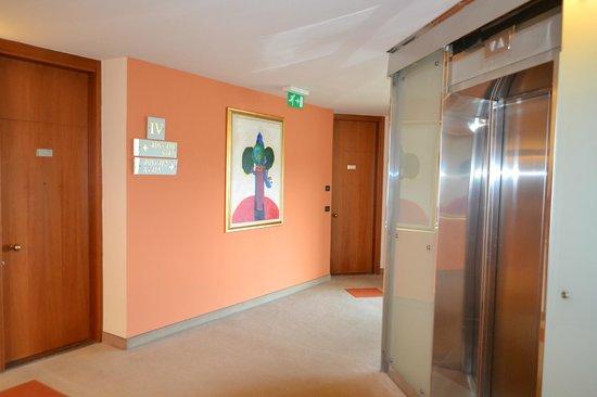 Hotel Eden: zona ascensori