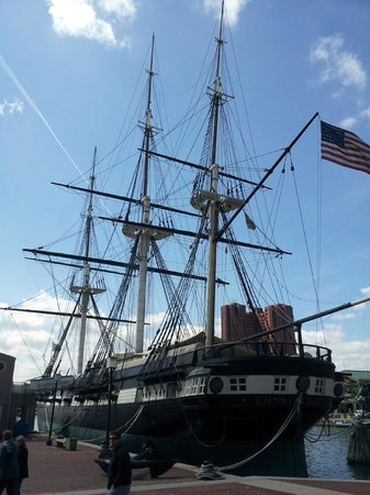 Historic Ships in Baltimore: the USS Constellation