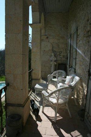 Manoir le Bigourda: Italian Terrace