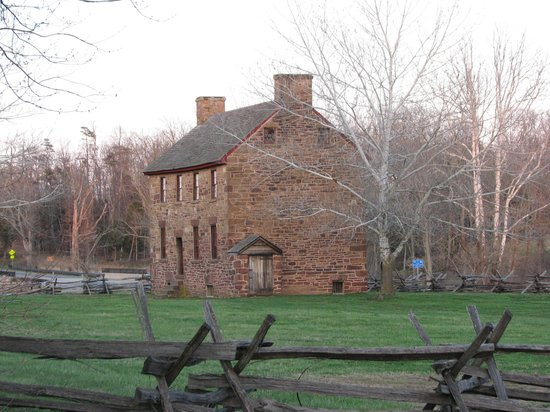 Manassas National Battlefield Park: Stone house used as hospital by both sides