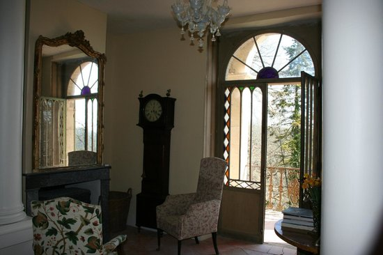 Manoir le Bigourda: Seating area