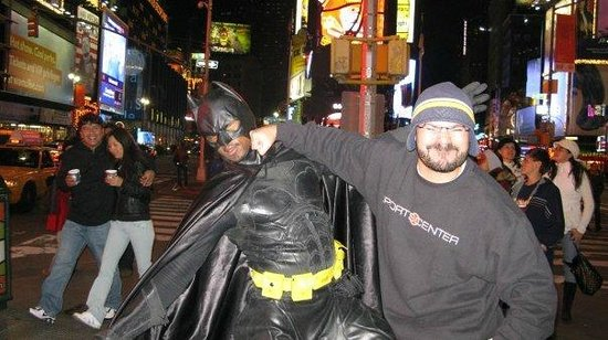 Times Square : crazy