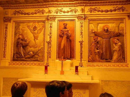 Franciscan Monastery of the Holy Land : chapel of st francis