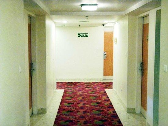 Hometel Chandigarh: hallway