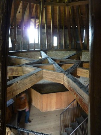 Castillo Muiderslot: inside a tower