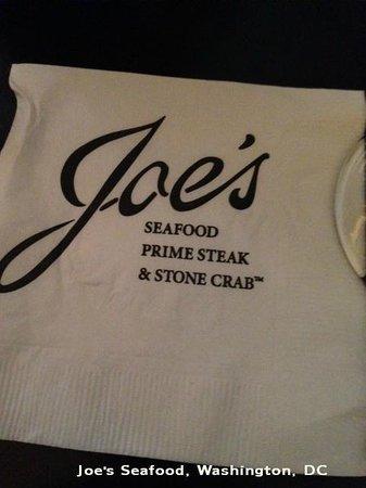 Joe's Seafood Prime Steak & Stone Crab: Not so great service