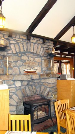 old stone fireplace. Goldenrod Restaurant  Big Old Stone Fireplace Picture of York