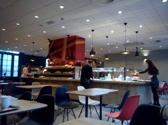Ibis Brussels off Grand Place : Sala de desayunos
