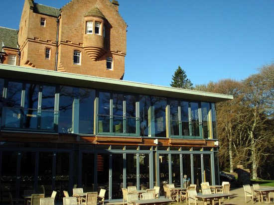 Fonab Castle Hotel: Exterior of the Lounge
