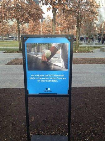Mémorial du 11-Septembre : Respect