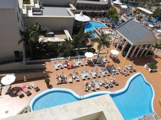 Bahia Princess Hotel: view from balcany