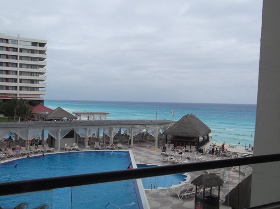 Crown Paradise Club Cancun: vista desde habitacion