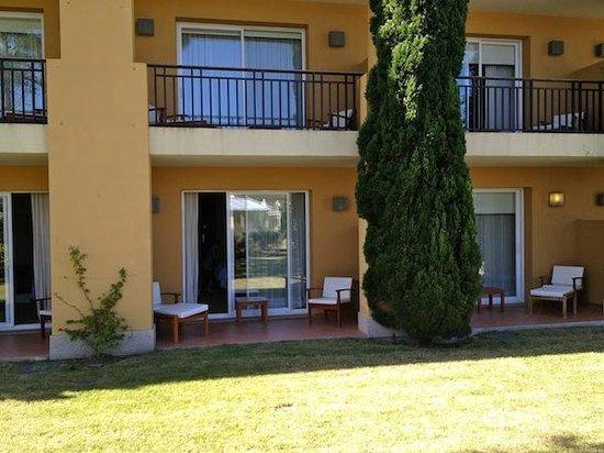 Punta Del Este Resort & Spa: O quarto com portas para o jardim!