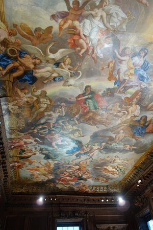 Chatsworth: more painted ceiling