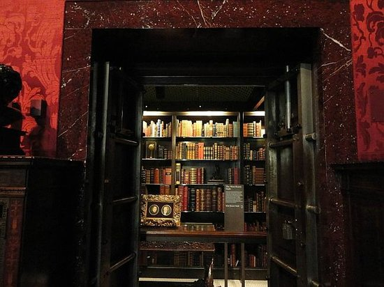 The Morgan Library & Museum: book vault