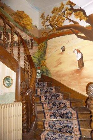 Le Château des Arches : l'escalier