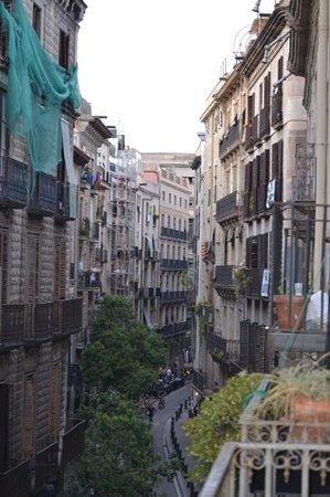 Barcelona 4 Fun Hostel: aussicht 2011