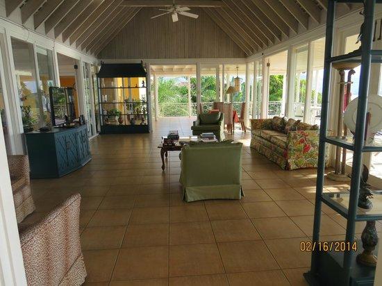 Polkerris Bed and Breakfast: Lounge