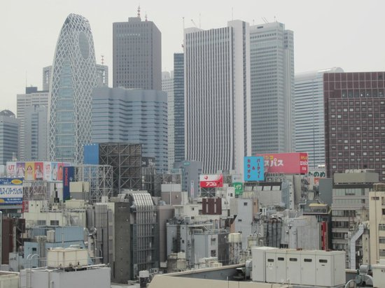 Citadines Central Shinjuku Tokyo : View from room looking west