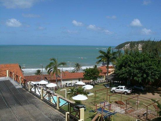 Cabanas Praia Hotel: Vista do apartamento