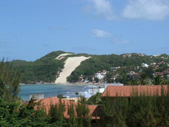 Cabanas Praia Hotel: Vista do morro do careca