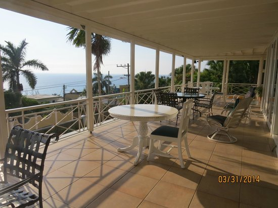 Polkerris Bed and Breakfast : View from breakfast table