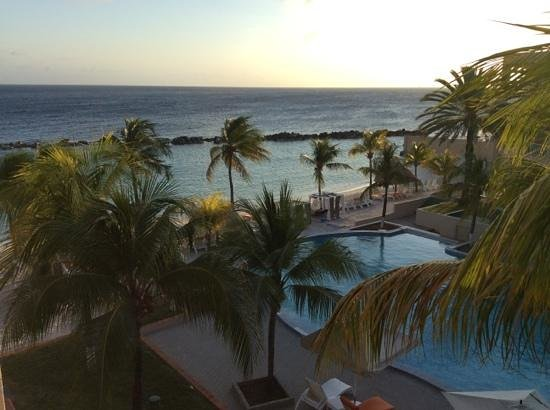 Sunscape Curacao Resort Spa & Casino : view from our room