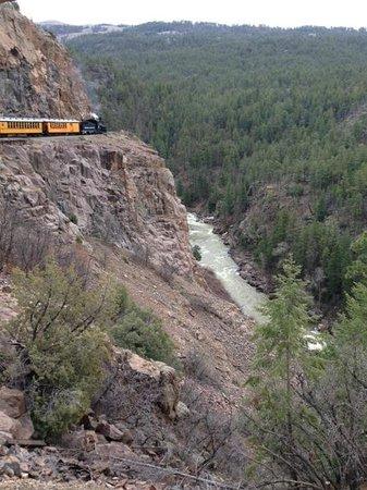 Durango and Silverton Narrow Gauge Railroad and Museum: Engine 482 Durango and Silverton Narrow Gauge Train