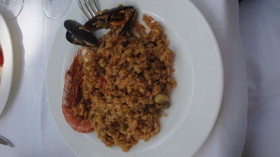 Restaurante Peru : Paella