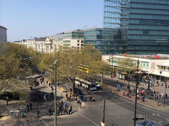 Swissotel Berlin: Blick von der Terrasse