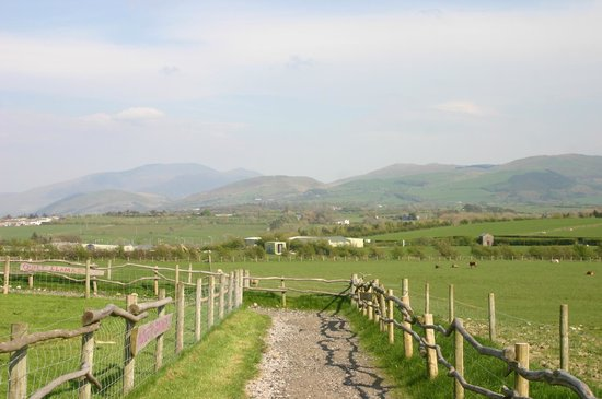 Wellington Farm Cafe & Tearooms: Our panoramic view of the Cumbrian Fells