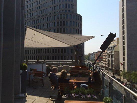 Swissotel Berlin: Dachterrasse