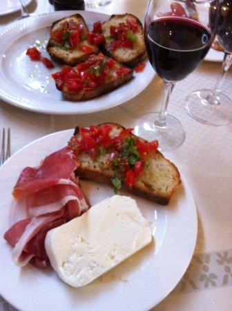 Ristorante Pizzeria Tasso: Lunch @ Tasso
