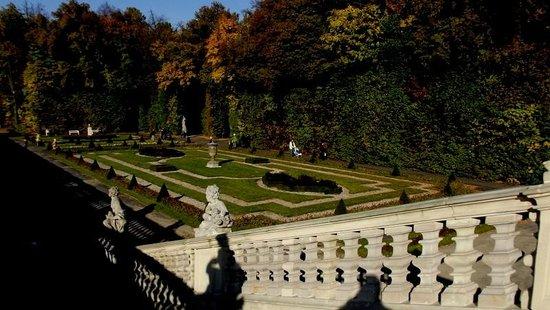 Varsovie : Italian gardens