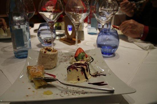 Le Velleda Hotel Restaurant : Très bonne table