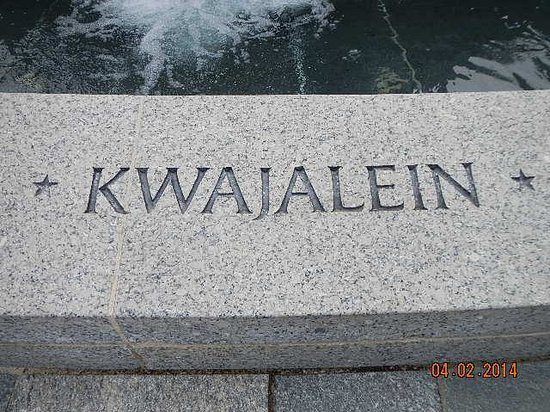 National World War II Memorial : Kwajalein