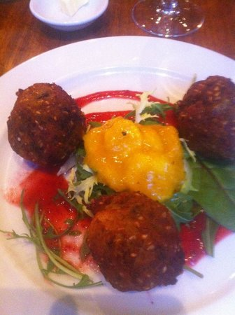 David Bann: Thai Fritters.... Please check menu!