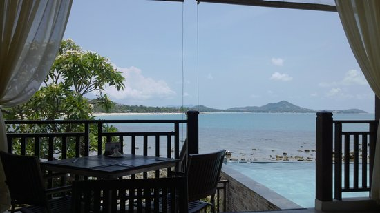 The Sarann: View from the restaurant